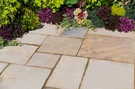 Sqm by Kelkay Natural Sandstone 10 2sqm Patio Kit In Eastern Sand Hayes