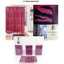 zebra bathroom ideas zebra shower curtain the shoppers guide
