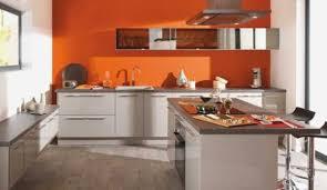 couleur pour cuisine la couleur orange pour réveiller votre