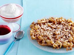 easy classic funnel cake recipe sunny anderson food network