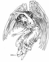 costume coloring pages fantasy angel coloring pages angel