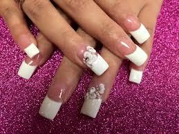 wedding bells 3d nail art designs by top nails clarksville tn