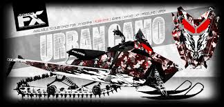 polaris snowmobile arcticfx graphics release all new 2016 sled wraps