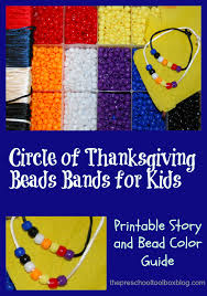 a circle of thanksgiving craft literacy and math for
