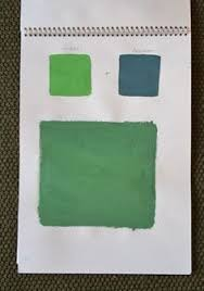 shades of amber chalk paint color theory antibes green