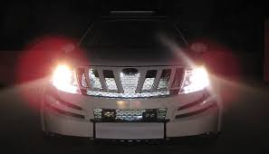 glow lights diy led car grille glow lights