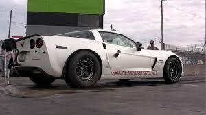 turbo corvette turbo corvette z06 tears up the dragstrip redline