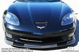 carbon fiber corvette corvette c6 version ii apr splitter projects to try