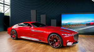 mercedes concept cars the longest coupè in the world vision mercedes maybach 6 concept