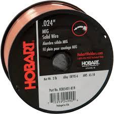 hobart mig welding wire u2014 er70s 6 carbon steel 024in 2 lb