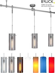 3 pendant track lighting hanging track lighting fixtures etched opal glass brushed nickel 3