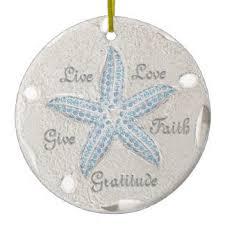 sand dollar ornaments keepsake ornaments zazzle