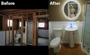 small basement bathroom designs before after a mismatched 1950s bathroom gets simplified 11
