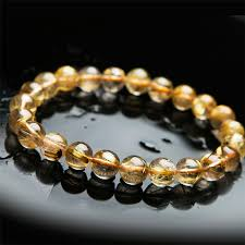 quartz crystal bracelet beads images 8mm genuine natural gold titanium rutilated quartz crystal stretch jpg
