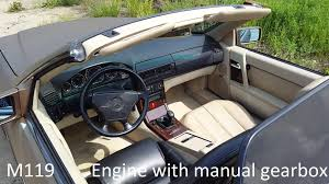 mercedes r129 sl500 m119 engine v8 manual gearbox final