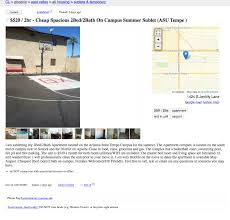 Flag Craigslist Post Total Frat Move Asu Student Lists His U201capartment U201d On Craigslist