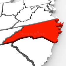 america map carolina carolina abstract 3d state map united states america