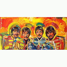 sargeant peppers album cover beatles sargent sgt peppers album cover painting sgt pepper