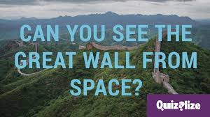 Great Wall Of China On Map by Can You Really See The Great Wall Of China From Space Youtube
