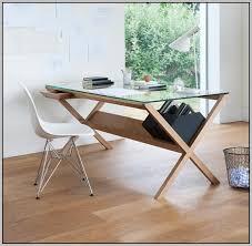 Glass Top Computer Desks For Home L Shaped Glass Computer Desks For Home Desk Home Design Ideas