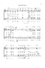 lord u0027s prayer satb choir