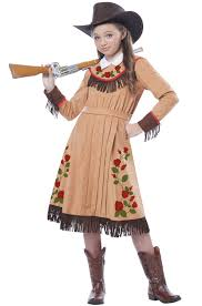 party city halloween girls costumes cowgirl annie oakley child costume walmart com