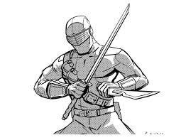 snake eyes by misterbitter on deviantart