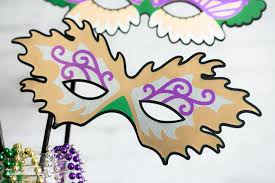 mardi gras decorations to make mardi gras masks for costumes and photo booth props hey let s