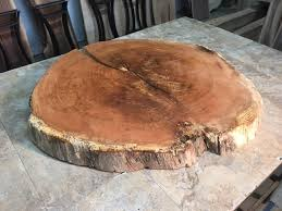 tree cross section table live edge oak lumber for sale at ohio woodlands live edge wood