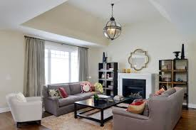 before and after staging living room staging a vacant overland park house before and