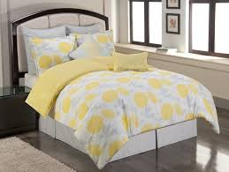 Sunflower Bed Set Simple Bedroom Design With Yellow Grey Sunflower Comforter