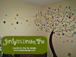 Girls Murals by Wall Mural Of A Treehouse Surrounded By Educational Toys Books