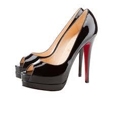christian louboutin chaussures art plateforme christian louboutin