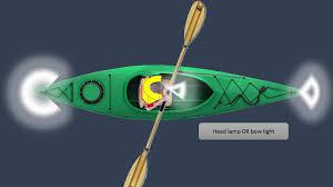 kayak lights for night paddling kayak lighting democraciaejustica