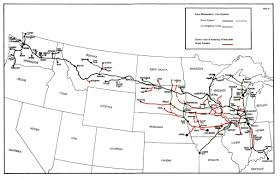 Map Of Milwaukee Milwaukee Road Archives