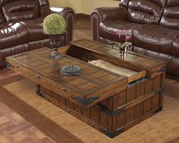 Ashley Furniture Coffee Table Coffee Table Brilliant Rustic Trunk Coffee Table Ideas Rustic