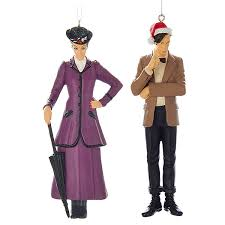 the master and 11th doctor ornaments 2 pack thinkgeek