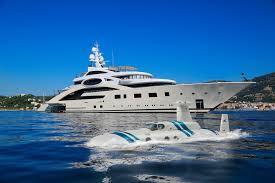from sky to water luxury submarine to superyachts com