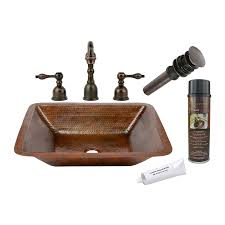 sink overflow cover oil rubbed bronze shop premier copper products oil rubbed bronze copper undermount