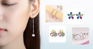 korean earings cheap stud earrings wholesale white stud earrings