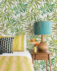 Peel And Stick Wallpaper by Tropical Leaves Wallpaper Peel And Stick