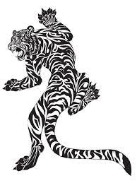 free tiger design
