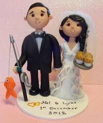 43 best wedding cake toppers images on pinterest cold porcelain