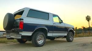 prerunner bronco dash 1994 full size ford bronco review youtube