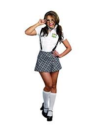 school girl costumes dreamgirl women s to nerdy plaid