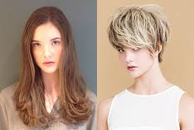 before and after picuters of long to short hair short hair inspiration and an incredible transformation hair romance