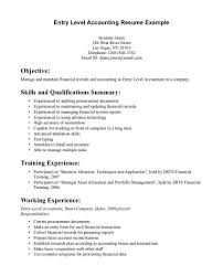 resume objective exles general accountant roles allocation creative jobon post event housekeeping resume arena duties summary