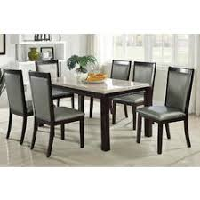 jaclyn smith pc faux marble dining set