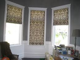 flat roman shades inside mount window treatments pinterest
