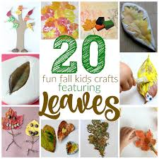 thanksgiving child activities 20 fun fall kids crafts with leaves i can teach my child